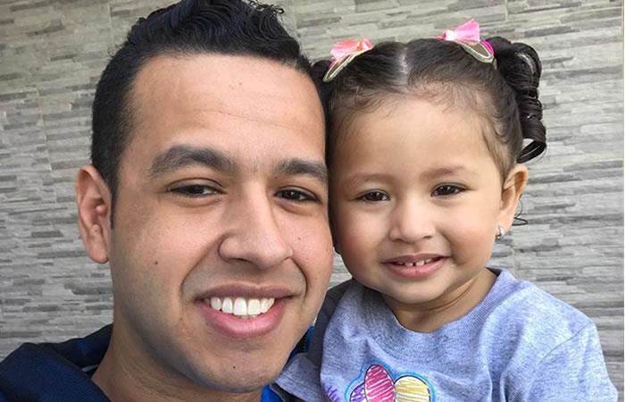 Hija de Martín Elías pide ver a su papá y todo queda registrado en un video