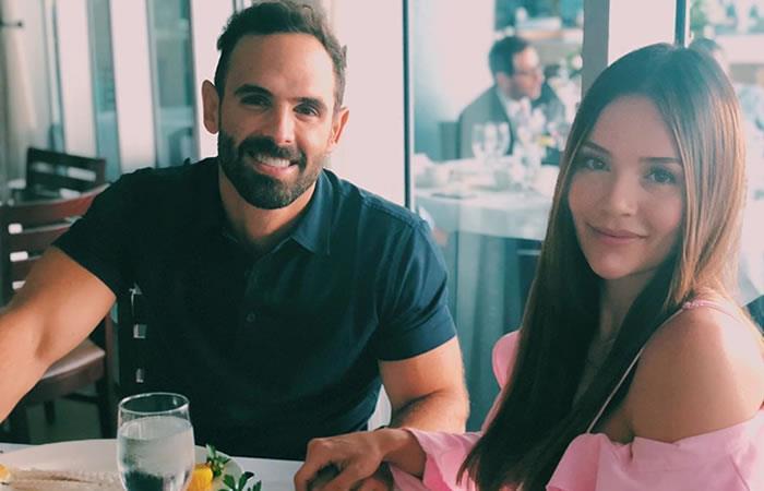 Lina Tejeiro junto a su novio, Norman Capuozzo. Foto: Instagram