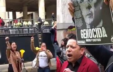 ¿Halagado o abucheado? Así fue recibido Uribe en la Corte Suprema de Justicia