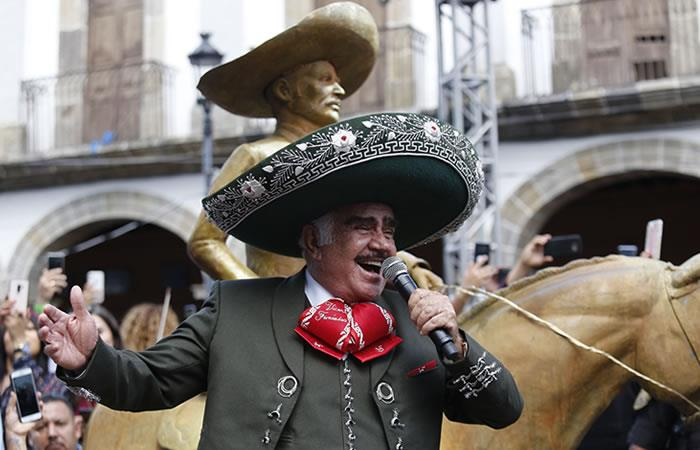 Vicente Fernández regresa escenarios