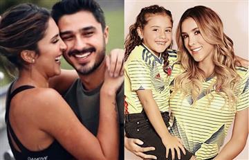 Así es la relación entre hija de James y novio de Daniela Ospina