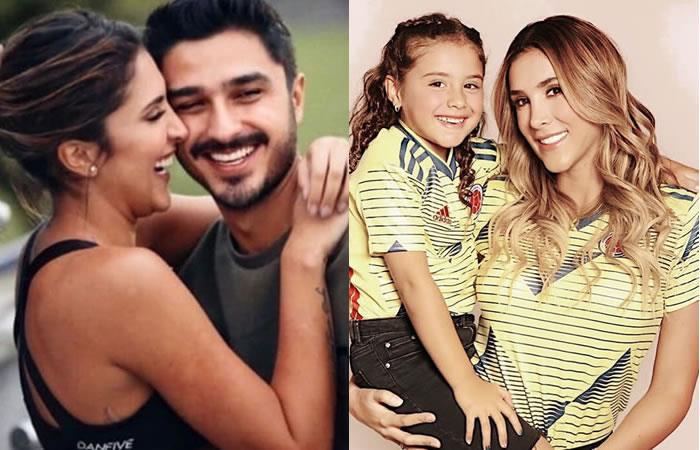 Daniela Ospina confiesa cómo es la relación de su hija con su novio Harold