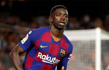 Ousmane Dembélé se pierde el clásico Barcelona vs Real Madrid
