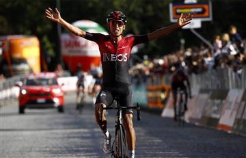 [VIDEO] Egan Bernal conquista un nuevo título en el ciclismo mundial