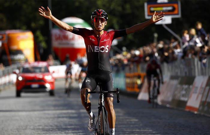 Egan Bernal campeón Gran Piemonte