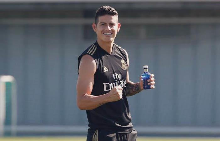 LaLiga Preparación James Rodríguez Real Madrid