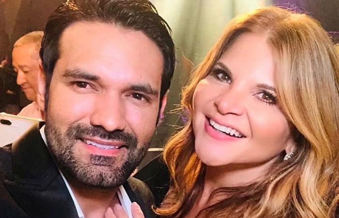 Diva Jessurum junto a Rafael Caparroso. Foto: Instagram