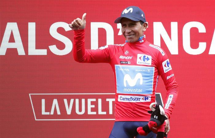 Giro de Lombaría Egan Bernal Nairo Quintana Movistar