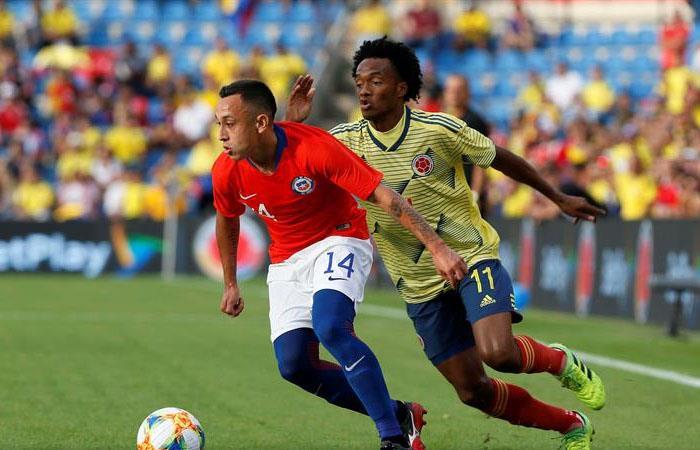 Amistoso Colombia vs Chile Resultado