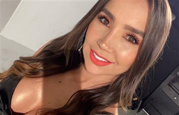 [VIDEO] Paola Jara dejó al descubierto su cola en medio de una sesión de fotos
