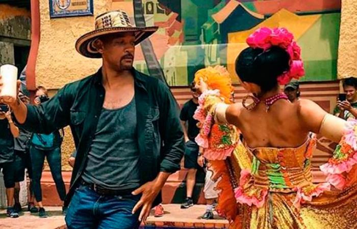 Will Smith se enamoró de Cartagena, su gente y sus tradiciones. Foto: Twitter