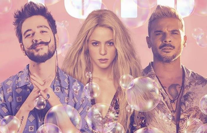 Camilo estrena el Remix de 'Tutu' con Shakira