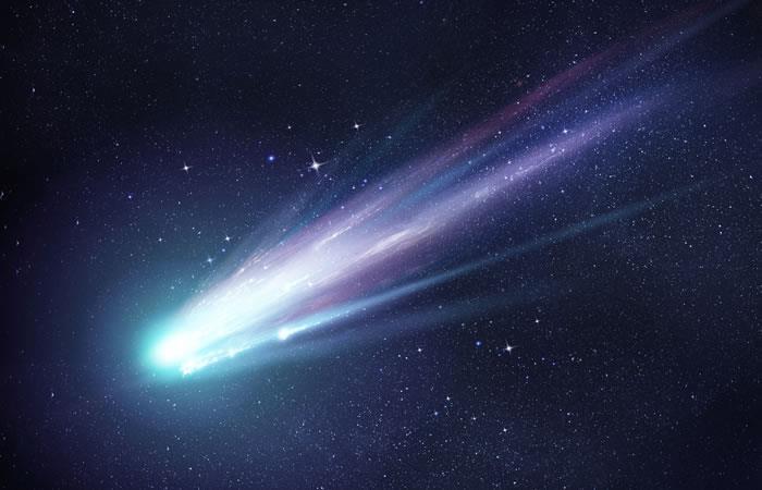 Este objeto interestelar fue identificado como un cometa por investigadores del espacio. Foto: Shutterstock