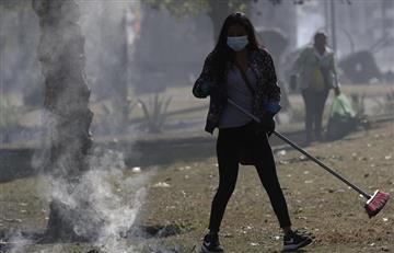 """Con palas y escobas: Manifestantes """"reconstruyeron"""" Quito tras once días de protestas"""