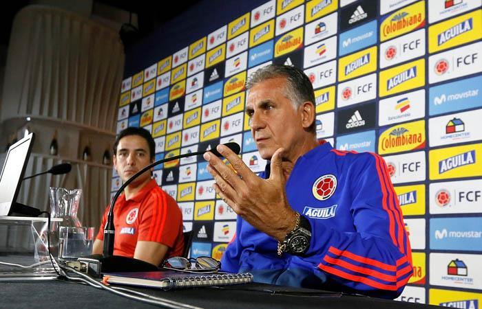 Selección Colombia Declaraciones Carlos Queiroz Colombia vs Argelia