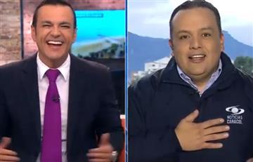 En vivo y en directo: Broma del 'Ojo de la noche' a Juan Diego Alvira por su cumpleaños
