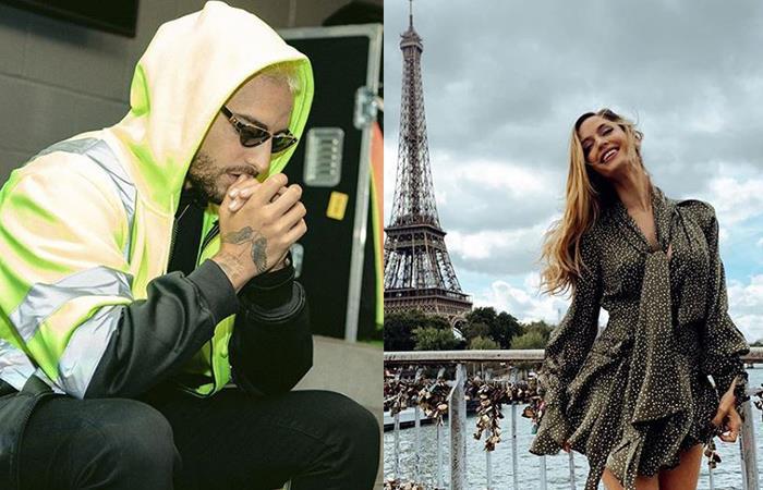¿Maluma terminó con su novia y Neymar empezó un romance con ella?