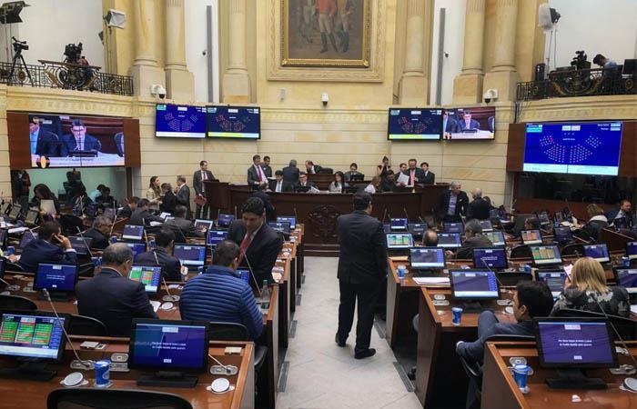 El Senado aprobó el polémico artículo del presupuesto para 2020. Foto: Twitter