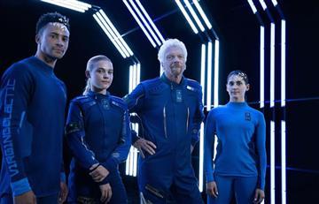 Under Armour es la marca que realizará los nuevos trajes espaciales para Virgin Galactic