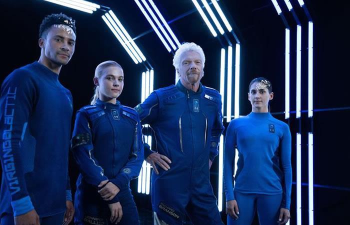Así lucirían los trajes espaciales diseñador por Under Armour. Foto: EFE