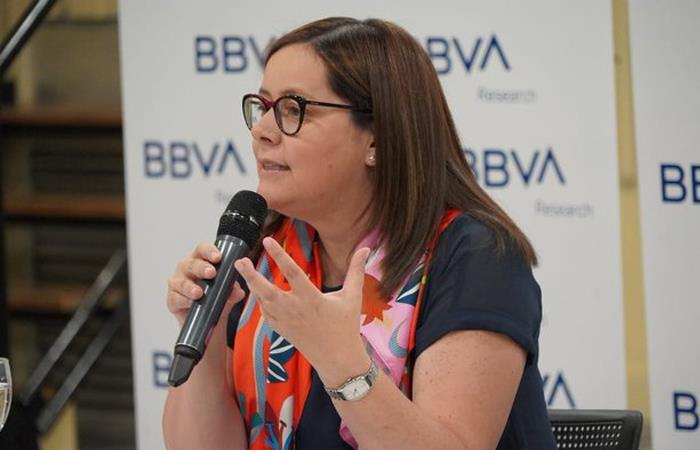 Juana Téllez, economista en jefe de BBVA Research Colombia. Foto: Twitter