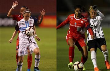 Medellin y América cayeron en la Copa Libertadores Femenina