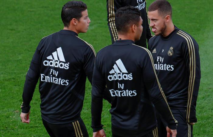 James Rodriguez titular Real Madrid vs Mallorca