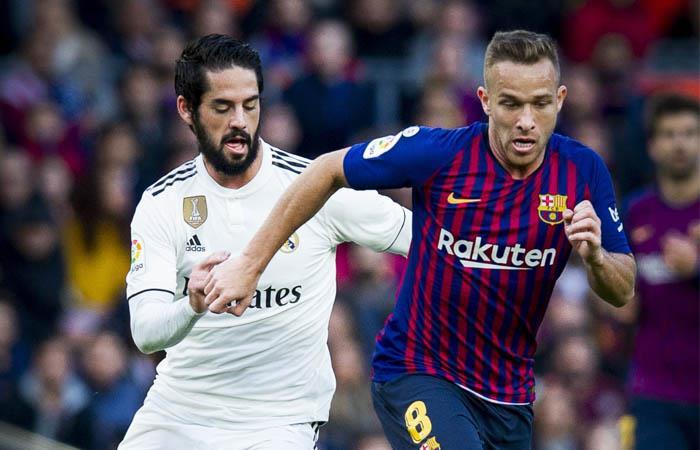 Barcelona y Real Madrid iban a disputar el clásico el 26 de octubre. Foto: Twitter