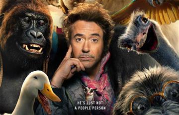 "Robert Downey Jr reemplaza a Eddie Murphy como ""Dr Dolittle"""