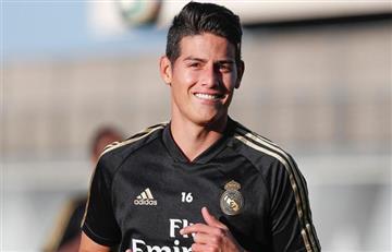 James Rodríguez será titular en el partido ante Mallorca