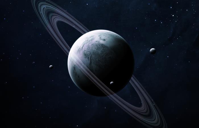 Las tormentas polares en Saturno causaron estragos en todo el planeta. Foto: Shutterstock