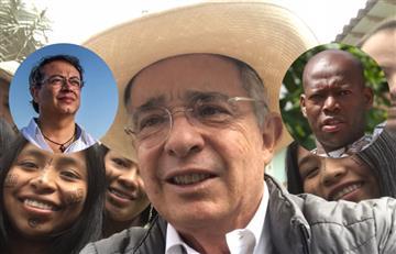'El Tino' Asprilla y Gustavo Petro volvieron a discutir por causa de Uribe en Twitter