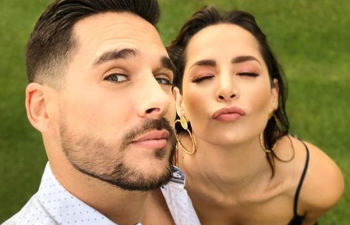 Viral foto de Carmen Villalobos en su matrimonio. Foto: Instagram