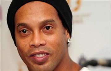 Así se despidió Ronaldinho de Colombia
