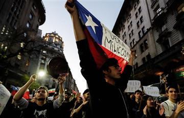 Dos colombianos muertos durante protestas en Chile