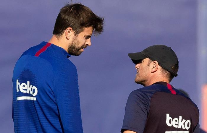Gerard Piqué jugador de Barcelona y dueño de Andorra FC. Foto: EFE