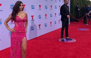 Hermana de Jessica Cediel robó las miradas en los Latin AMAS