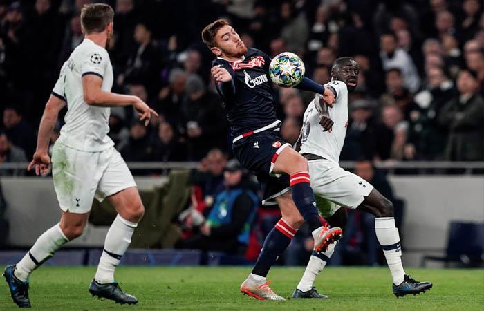 Liga de Campeones Resultado partido goles Tottenham Estrella Roja