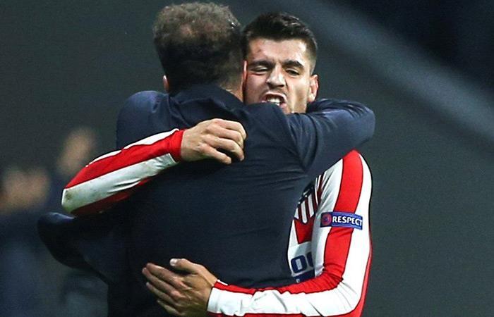 Atlético de Madrid derrotó a Bayern Leverkusen. Foto: EFE