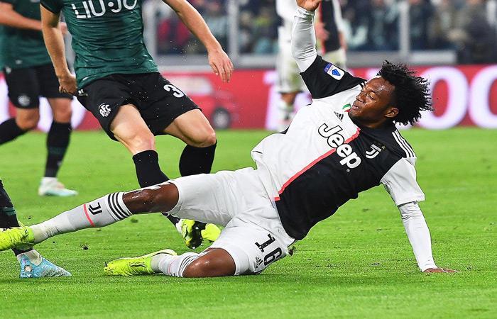Juan Guillermo Cuadrado, jugador de Juventus. Foto: EFE