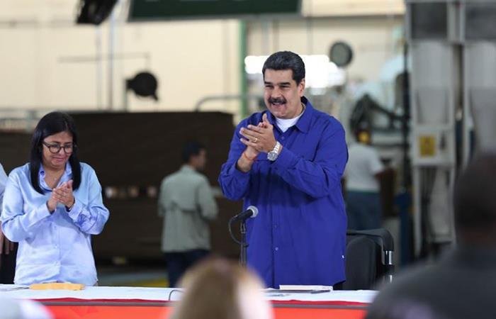 Nicolás Maduro se refiere al Programa Mundial de Alimentos