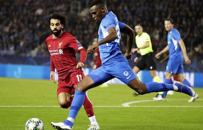Resultado goles partido Genk Liverpool Liga de Campeones Salah Chamberlain