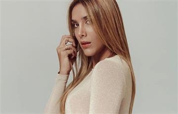 """Daniela Ospina respondió a quienes criticaron sus supuestas axilas """"negras"""""""