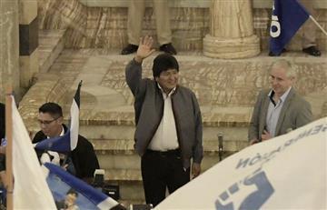 """Evo Morales asegura """"respetar"""" los resultados presidenciales en Bolivia"""