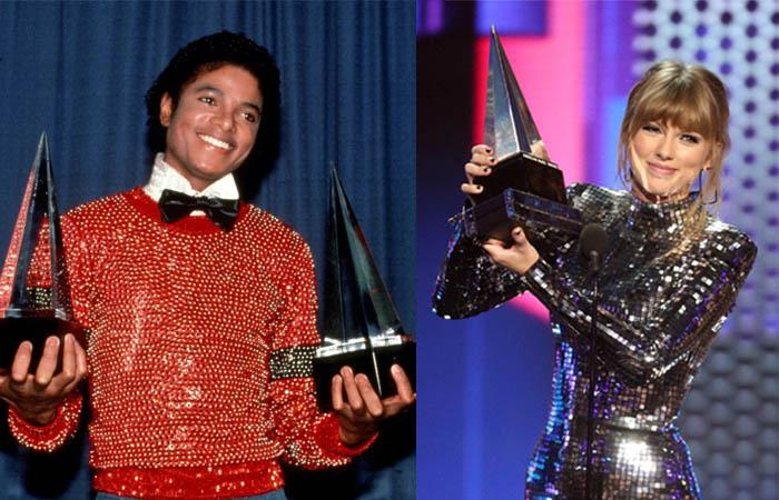 Nominados American Music Awards Taylor Swift Michael Jackson