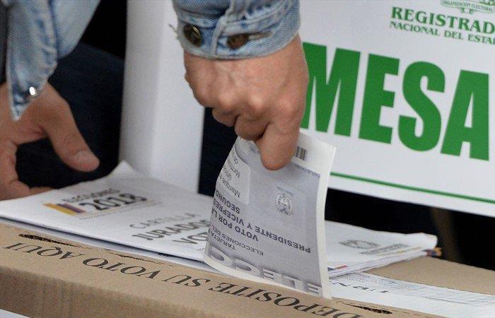 Opinión Voto en blanco Bogotá