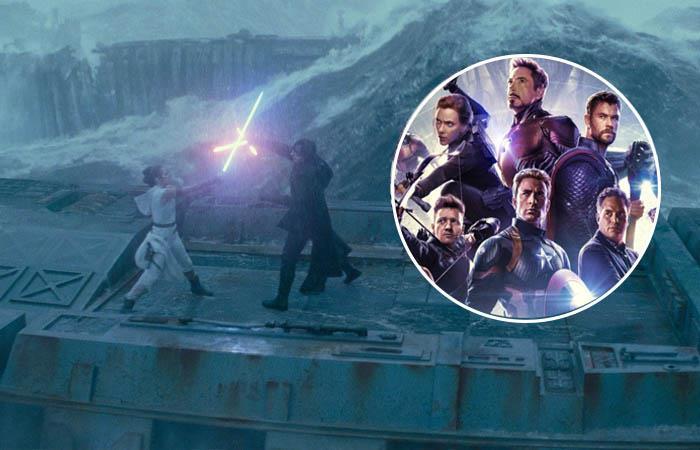 Star Wars superó a Avengers Endgame. Foto: Twitter