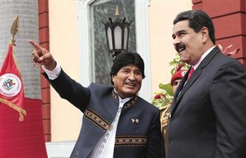Maduro pide respetar elección de Evo Morales como presidente de Bolivia
