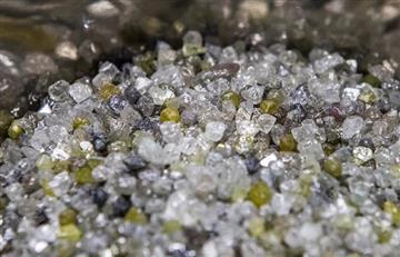 Los diamantes brindan a los científicos claves puntuales sobre el origen de la vida