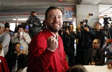 """Elecciones 2019: """"Estamos optimistas"""": Carlos Galán tras votar en Bogotá"""